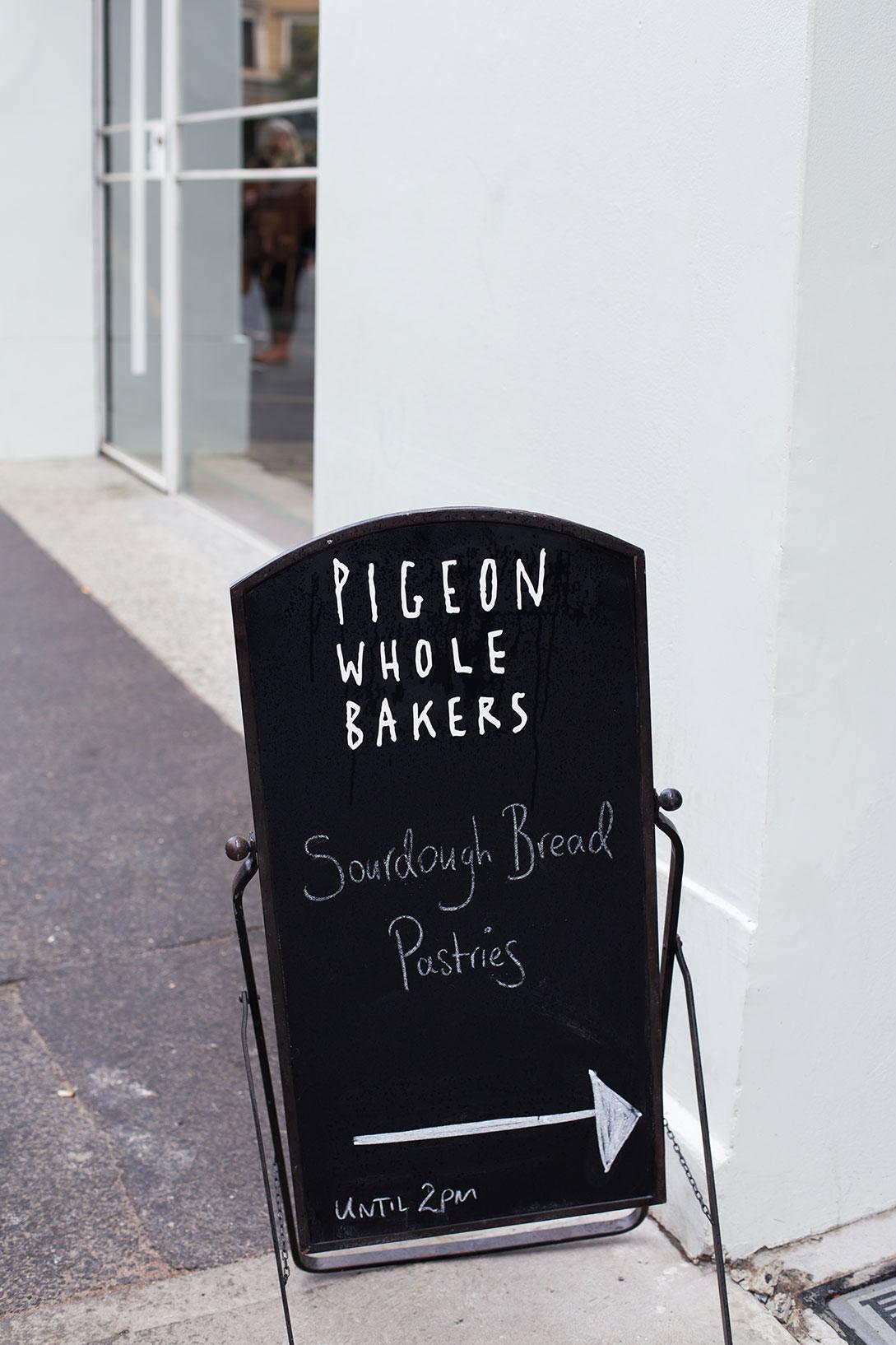 pigeon hole bakery