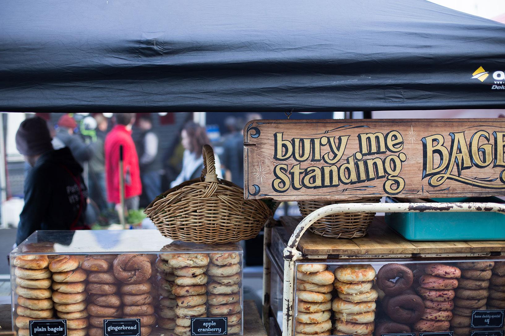 bury me standing bagels
