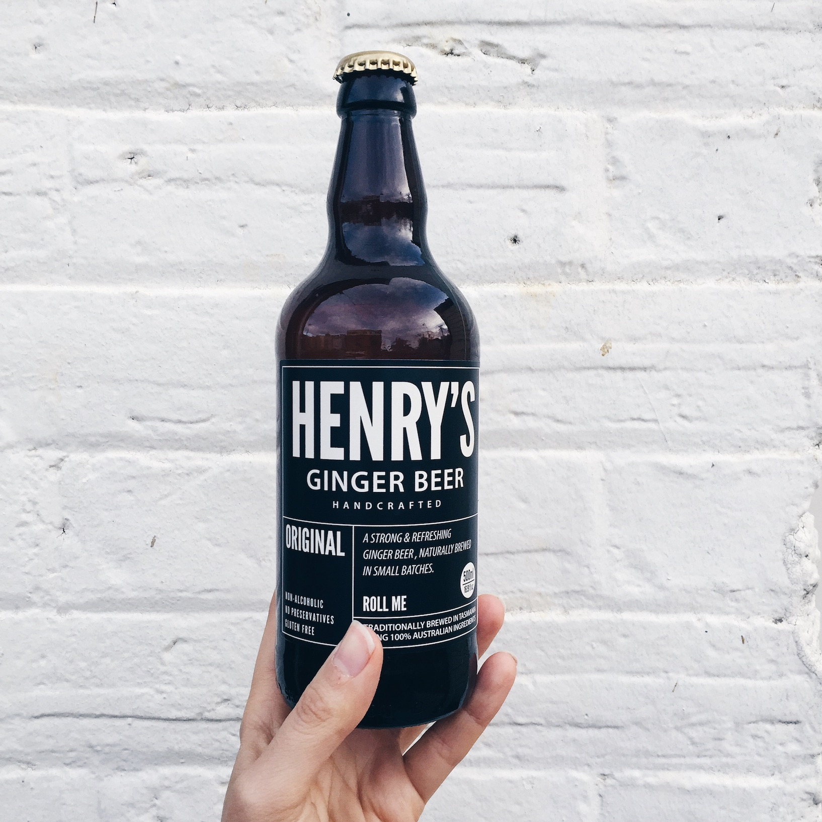 henry's ginger beer