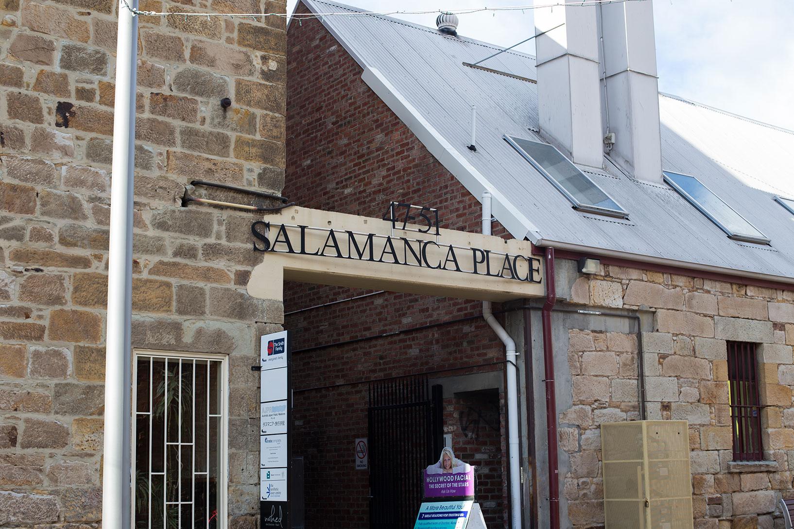 Salamanca Place Hobart