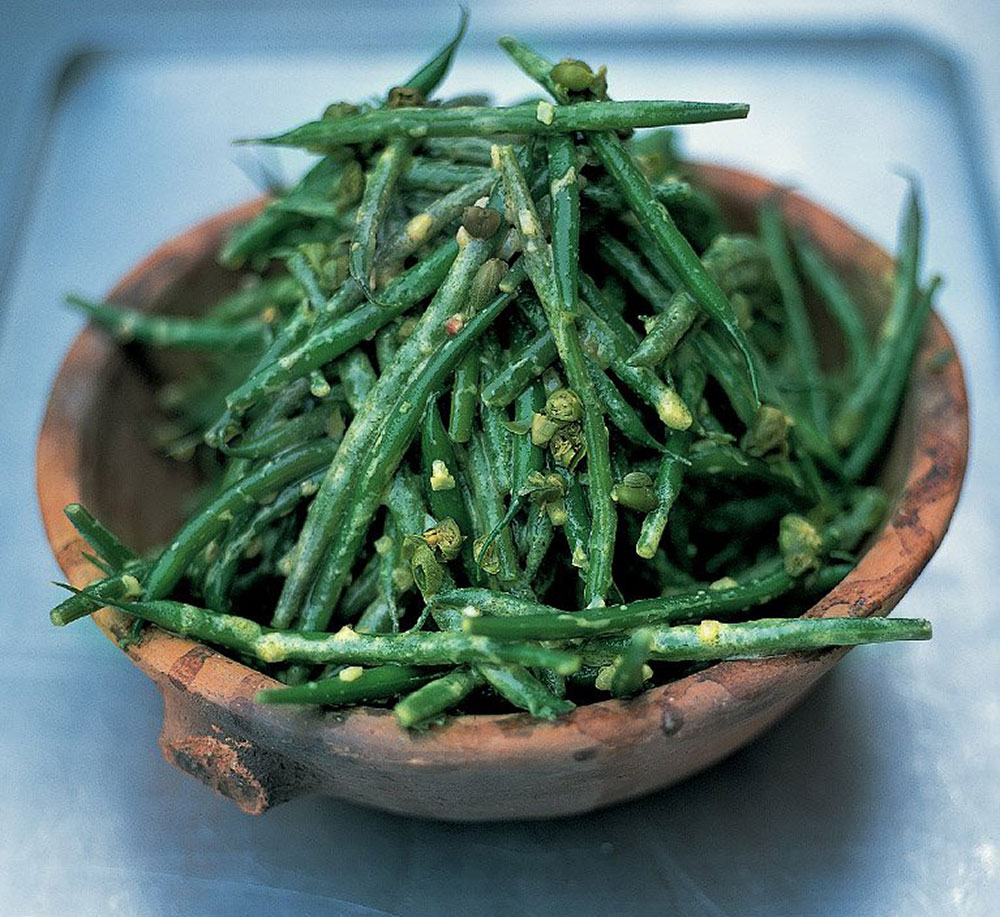 Jamie Oliver: French bean salad