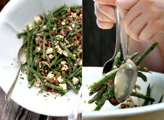 My New Roots: tarragon bean salad