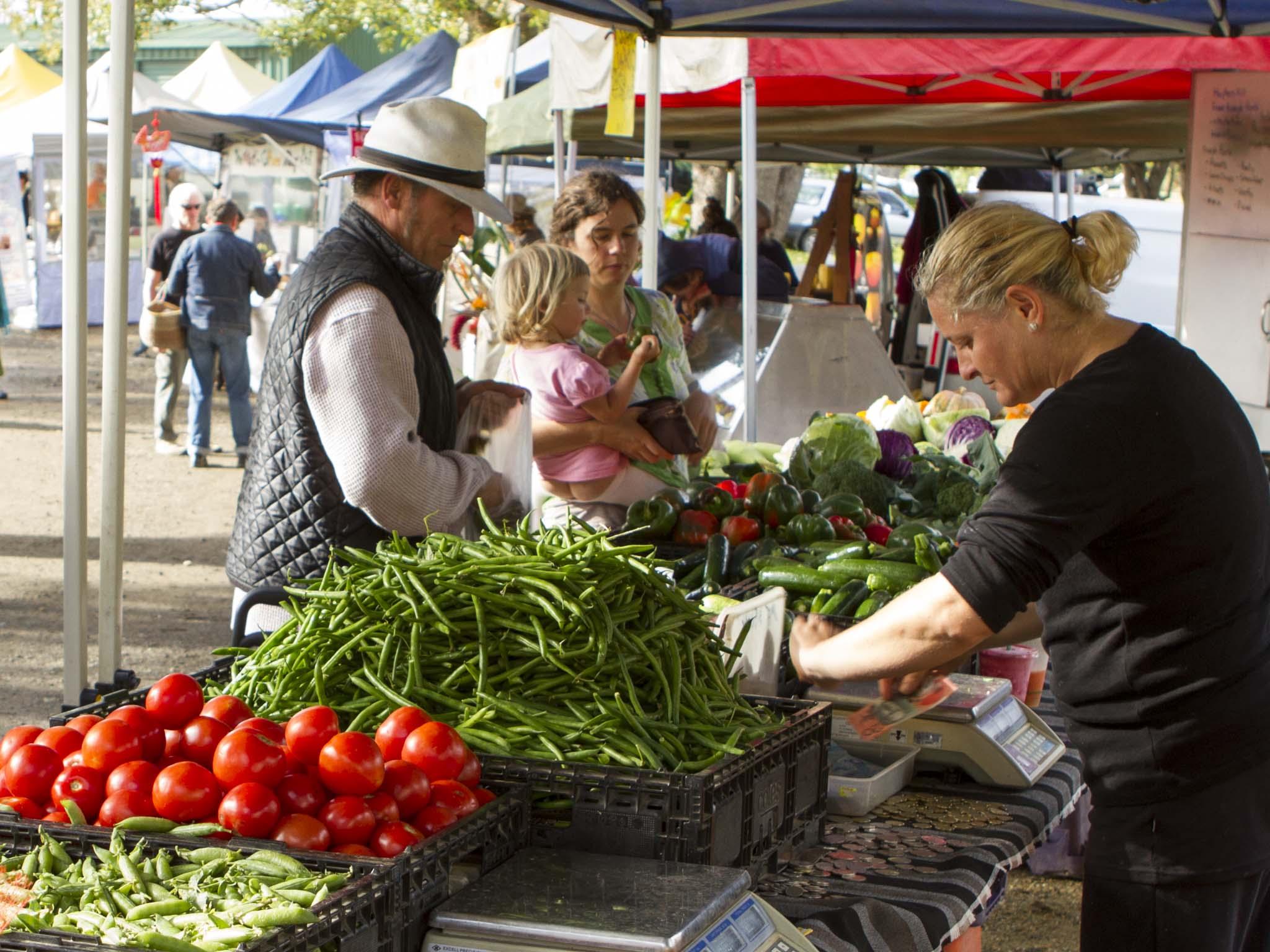 BJ farmers market