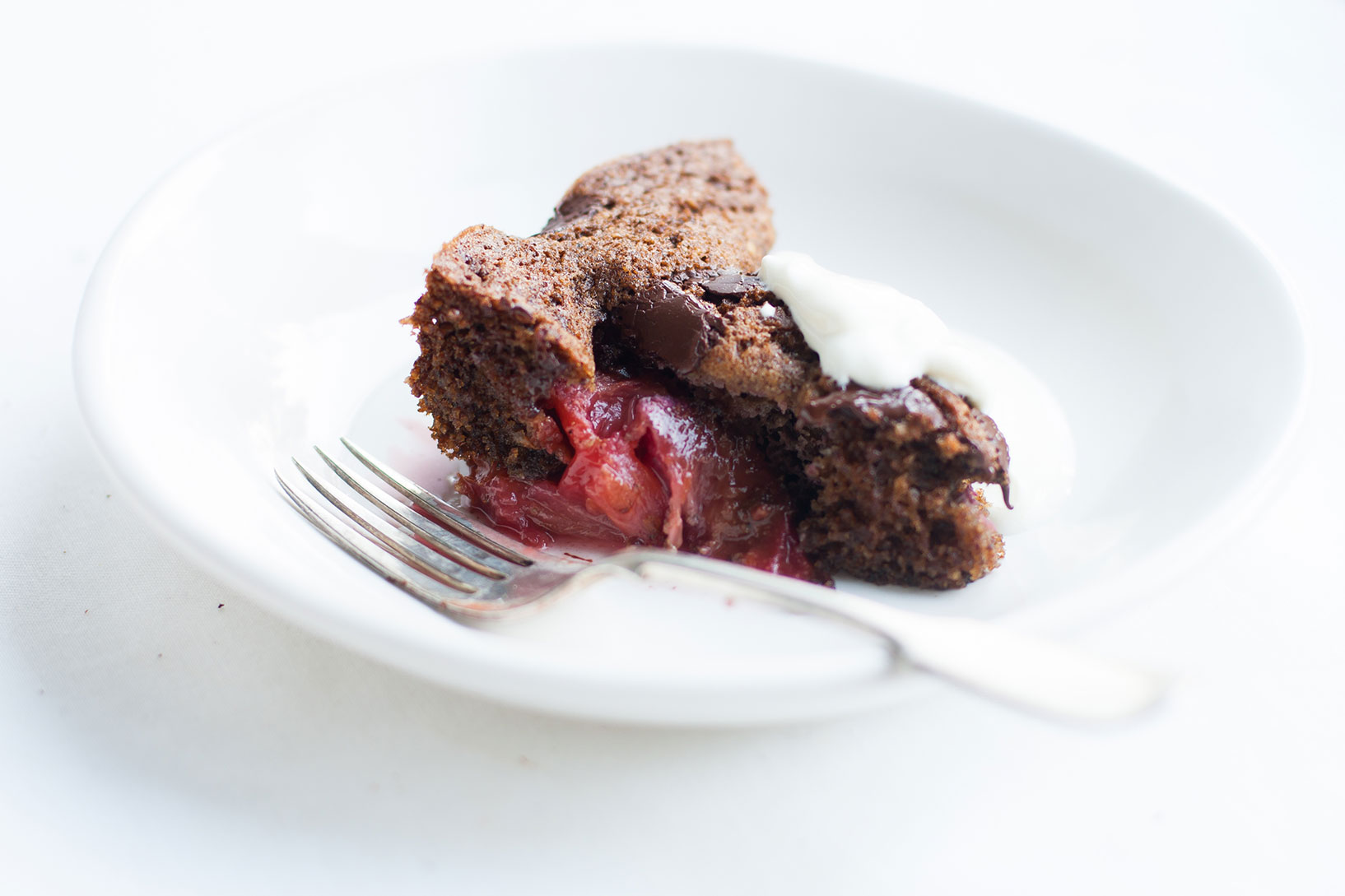 Plum Dark Chocolate Torta | The Alimental Sage