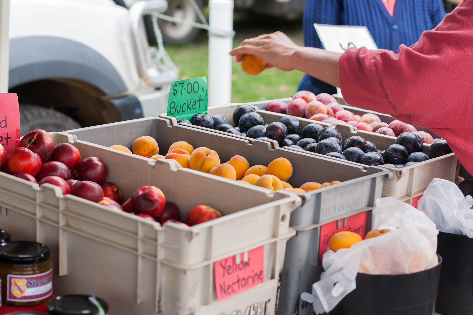 Millthorpe Market fruit