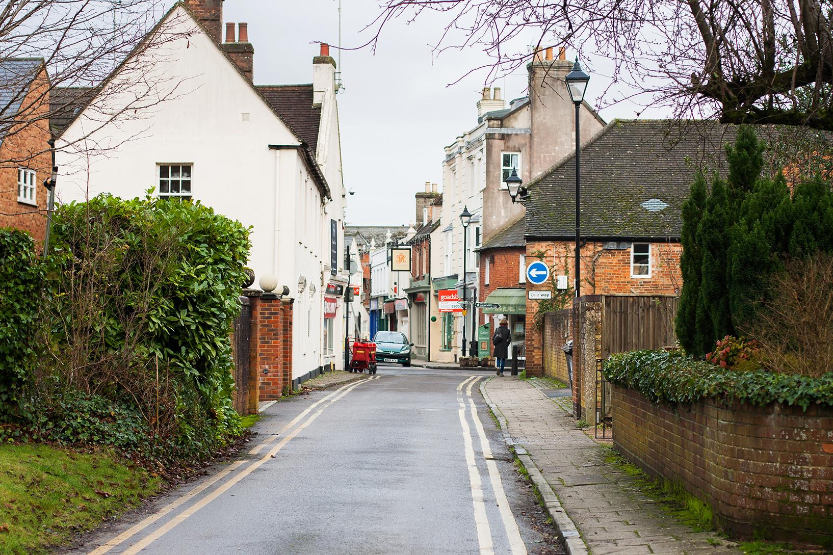 Wimborne streetscape