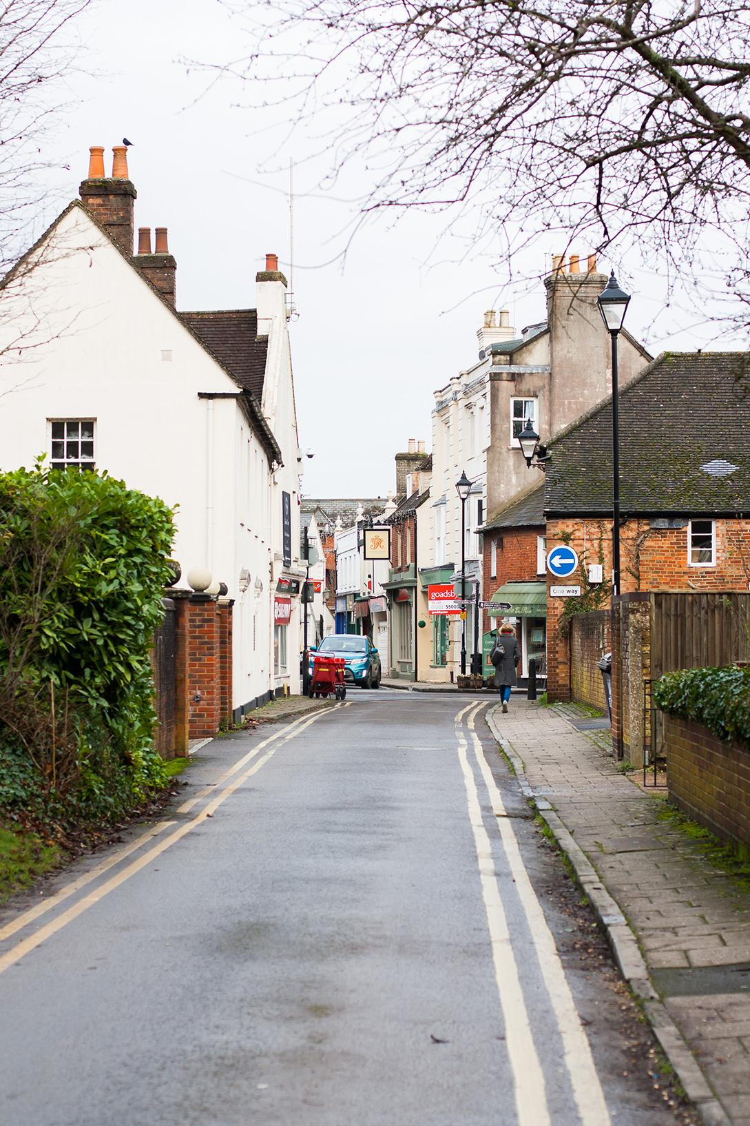 Wimborne streets